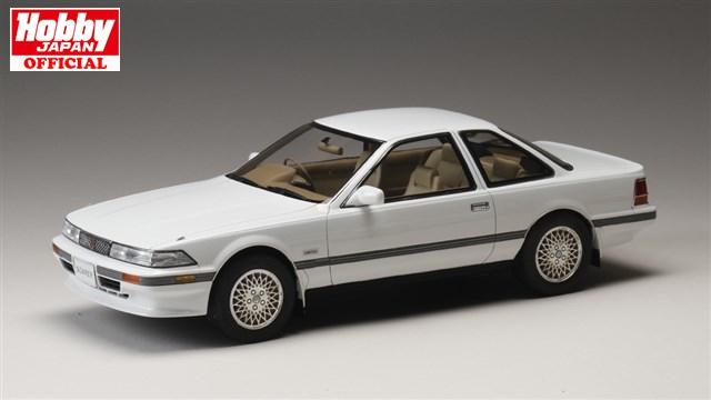 ホビージャパン トヨタ ソアラ 3.0GT リミテッド (MZ20) 1986 スーパーホワイト 1/18 完成品ミニカーHJ1801BW 送料無料