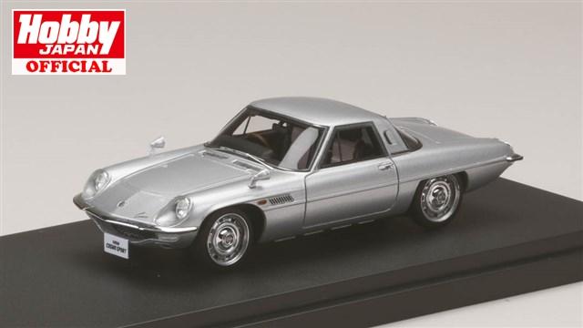 MARK43 (PM4381S) 1/43 マツダ コスモスポーツ (L10B) 1967 シルバー 送料無料