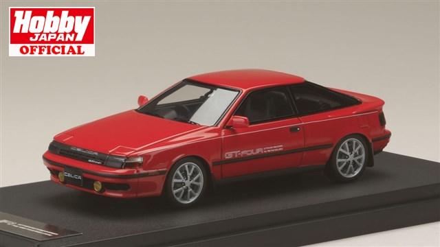 MARK43 (PM4337AR) 1/43 トヨタセリカ GT-Four (ST165) 1986 スーパーレッド 送料無料