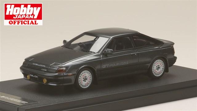 MARK43 1/43 トヨタ セリカ GT-Four ST165 1986 スポーツホイール ミディアムグレーメタリック 完成品ミニカー PM4337ASGM