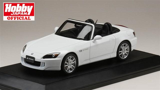 HobbyJAPAN 1/18 ホンダ S2000 (AP1-200) グランプリホワイト 完成品ミニカー HJ1810W 送料無料