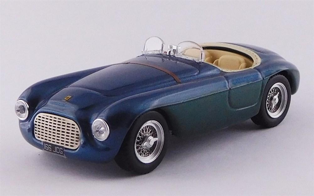 アートモデル 1/43 フェラーリ 166 MM シャーシNo.0064 バルケッタ ジャンニ・アニェッリ所有車 完成品ミニカー ART026-2