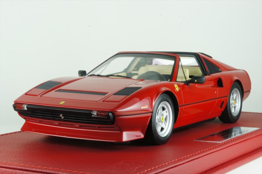 BBR 1/18 フェラーリ 208 GTS ターボ 1983 レッド 完成品ミニカー P18142A