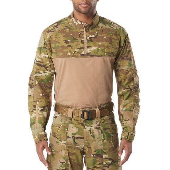 5.11タクティカル XPRT マルチカムラピッドシャツ カラー:マルチカム サイズ:Mサイズ ミリタリー 72094
