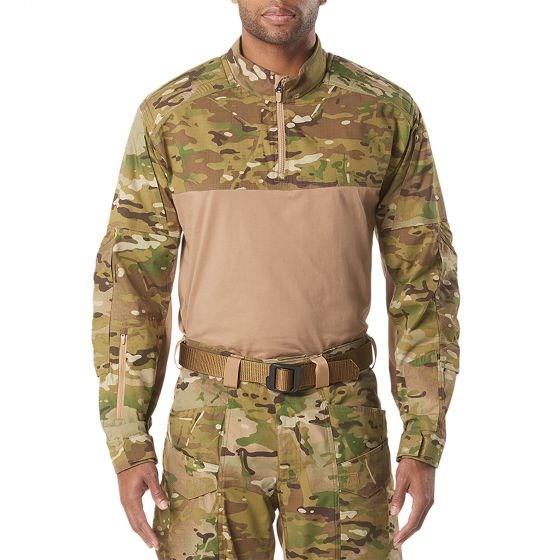 5.11タクティカル XPRT マルチカムラピッドシャツ カラー:マルチカム サイズ:Lサイズ ミリタリー 72094