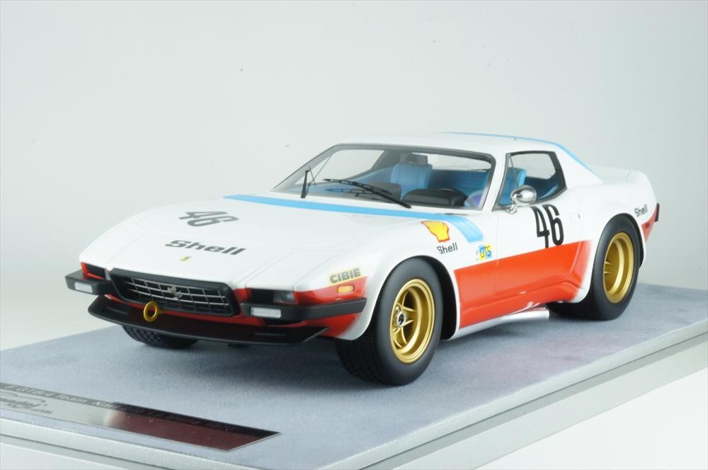 テクノモデル 1/18 フェラーリ365 GTB/4 ミケロッティ No.6 1975 ル・マン24時間 完成品ミニカー TM18-94A