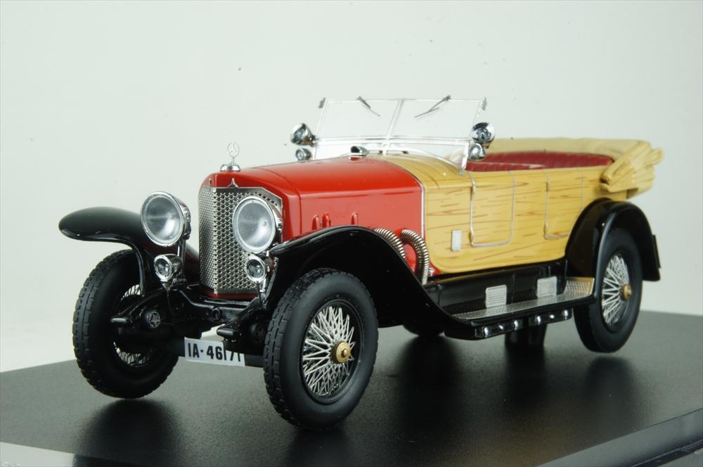 ネオ 1/43 メルセデス 28/95 1922 レッド/ウッド 完成品ミニカー NEO46171