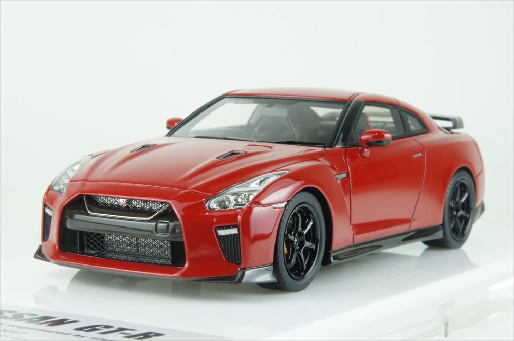 アイドロン1/43 ニッサン GT-R 2017 Track edition engineeレッド by nismo 2017 バイブランドレッド 完成品ミニカー EM385B