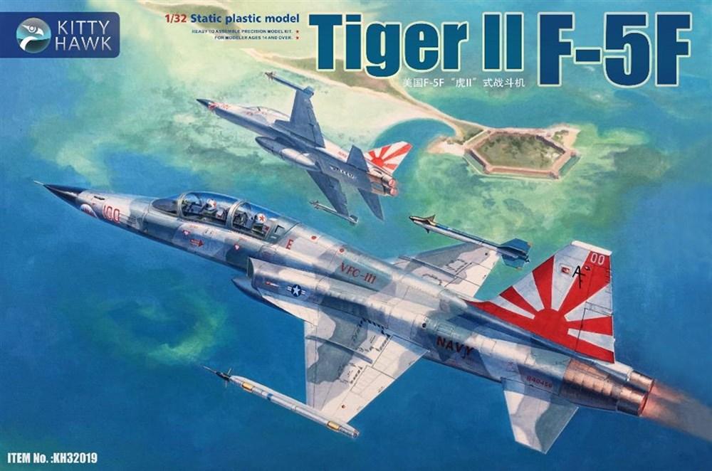 キティホークモデル 1/32 F-5F タイガーII スケールプラモデル KITKH32019