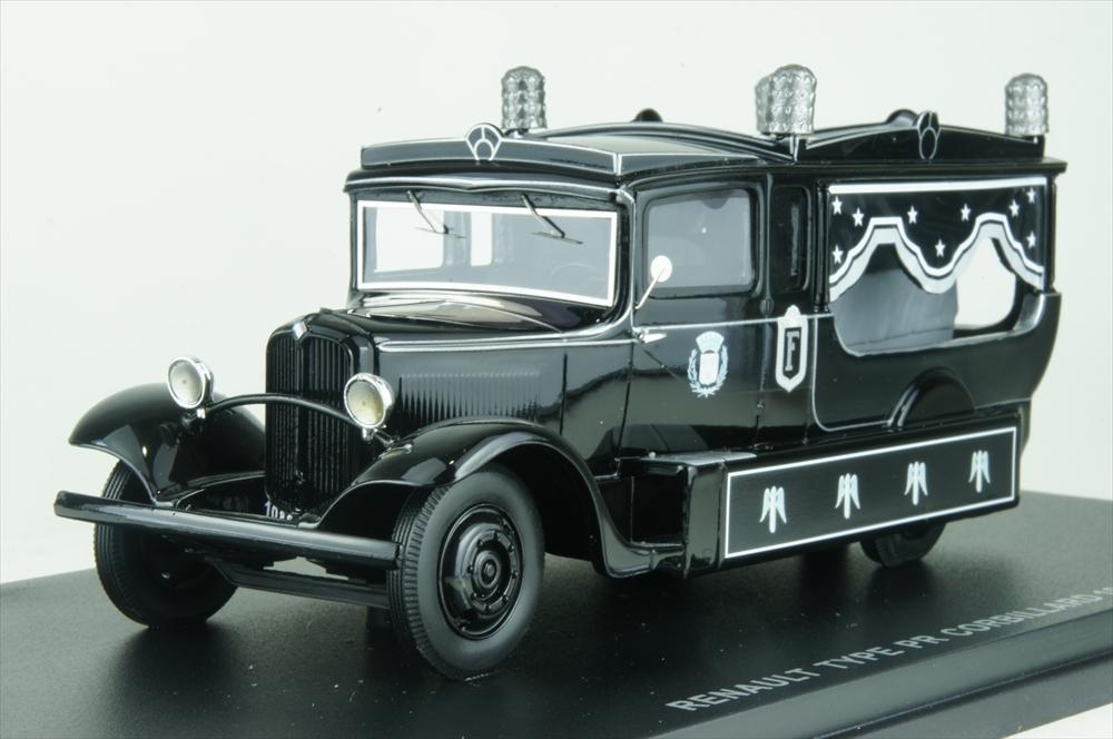 パーフェックス 1/43 ルノー PR 霊柩車 1933 完成品ミニカー PERFEX503