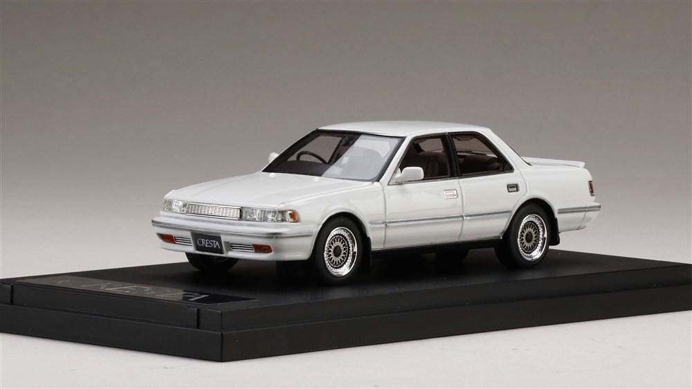 MARK43 1/43 トヨタ クレスタ 2.5 GT ツインターボ スーパーホワイト 完成品ミニカー PM4393SW