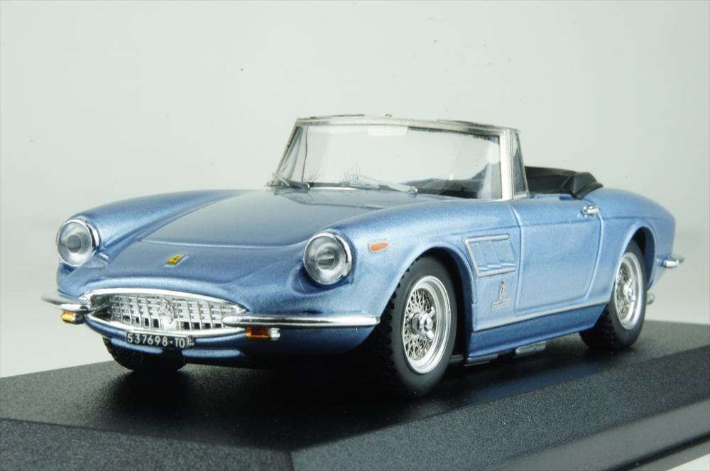 ベストモデル 1/43 フェラーリ 330 GTS 1967 ライトブルーメタリック 完成品ミニカー BEST9714