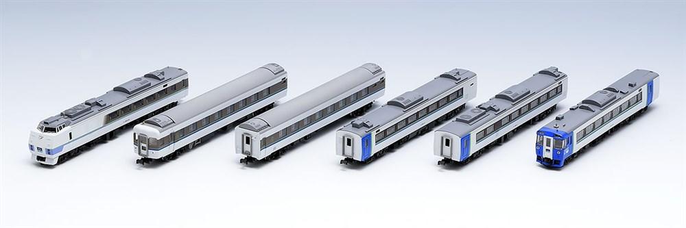 トミックスNゲージ JR キハ183系特急ディーゼルカー(まりも)セットB 鉄道模型 98641
