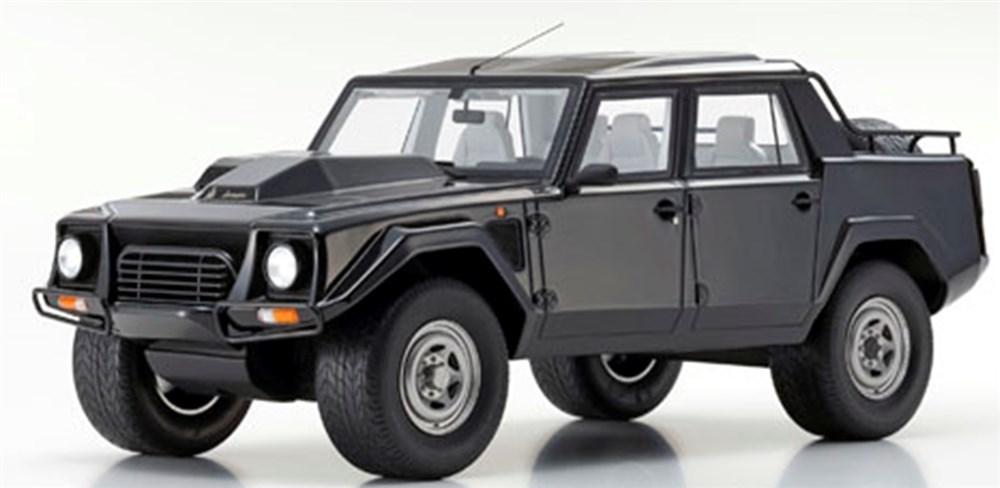 京商 1/18 ランボルギーニ LM002 ブラック 完成品ミニカー KSR18508BK
