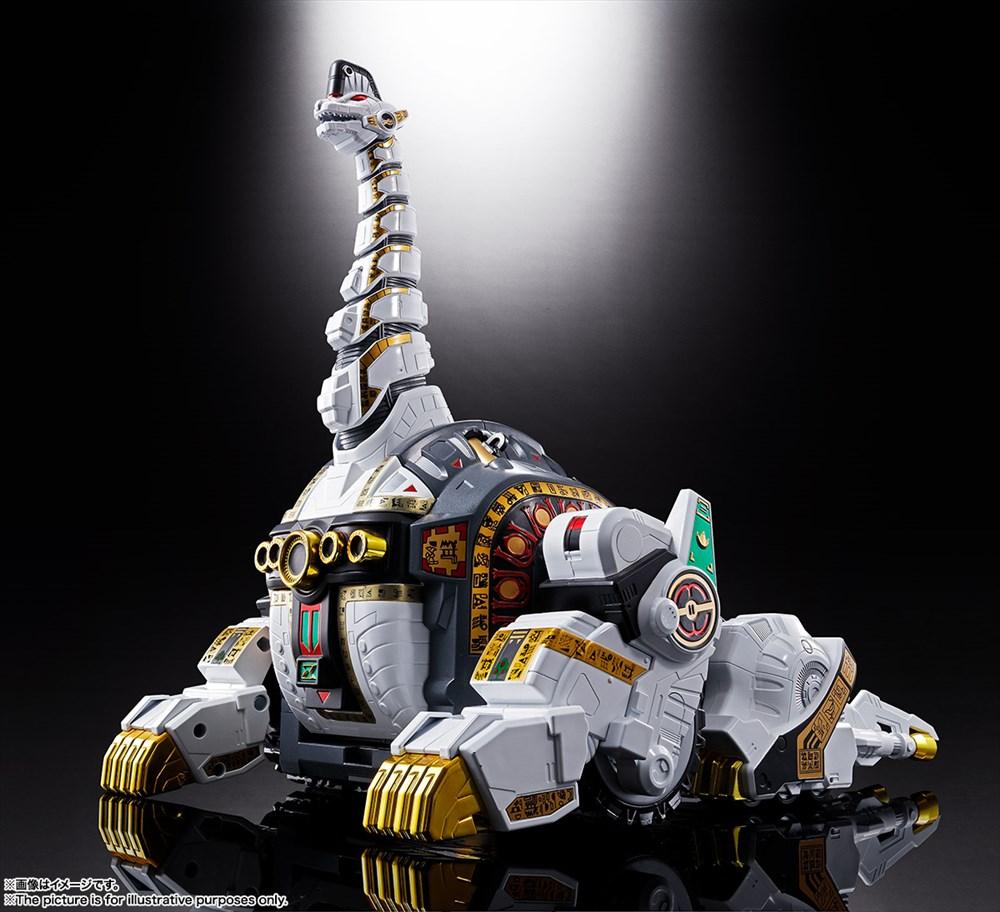 バンダイ 超合金魂 GX-85 キングブラキオン 「恐竜戦隊ジュウレンジャー」より フィギュア 4573102550538