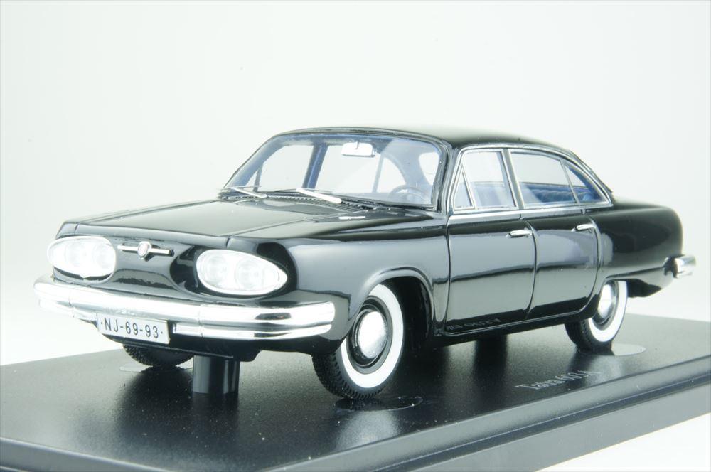 オートカルト1/43 タトラ 603A protoタイプ 1961 ブラック 完成品ミニカー 06023