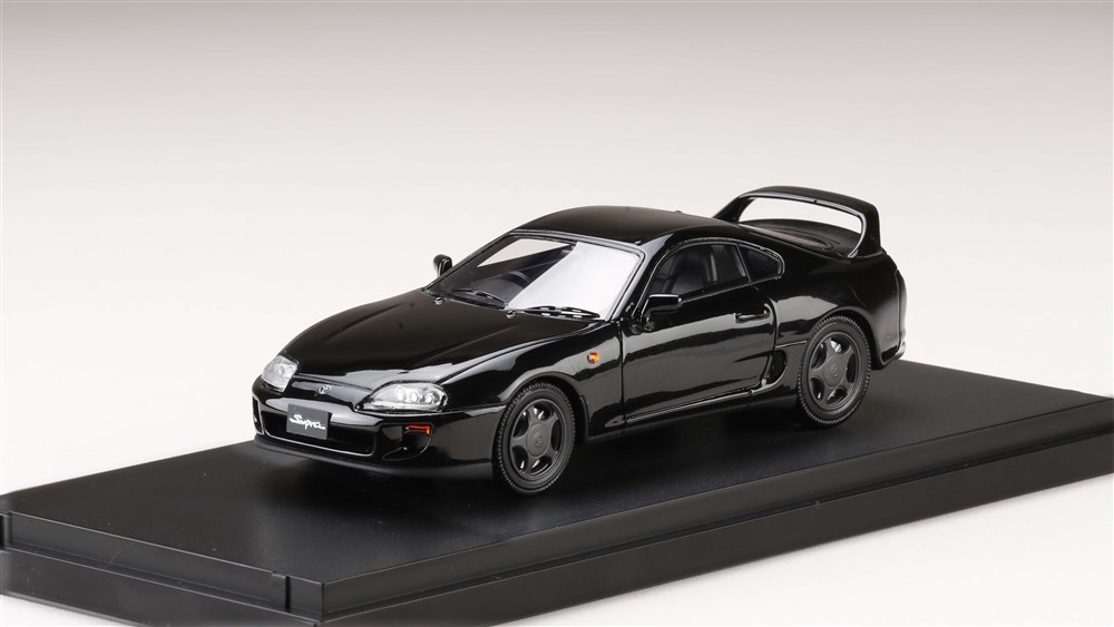 MARK43 1/43 トヨタスープラ(A80) 1993 ブラック 完成品ミニカー PM4307ABK
