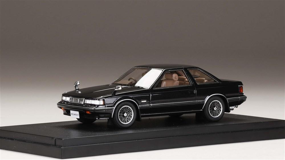 【予約】 MARK43 1/43 トヨタ ソアラ 2800GT-Extra ブラックメタリック(カスタムカラー) 完成品ミニカー PM4395BK
