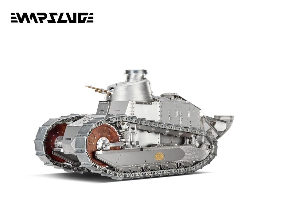 【予約・完全受注発注】 WARSLUG オール金属製可動ハイエンドレプリカ戦車 1/6 ルノー FT-17(フランス軍) 完成品
