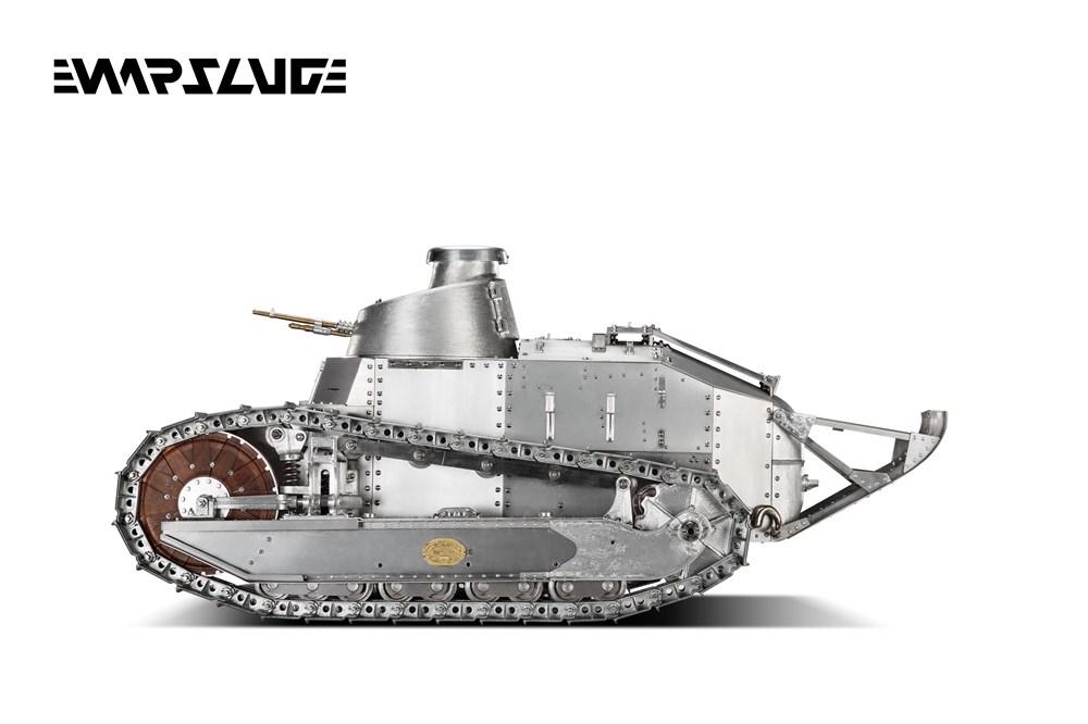 【予約】WARSLUGオール金属製可動ハイエンドレプリカ戦車1/6ルノーFT-17(フランス軍)完成品艦船・飛行機warslug17