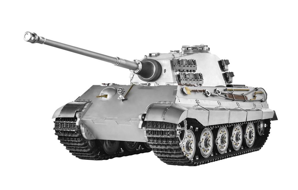 【予約・完全受注発注】 WARSLUG オール金属製可動ハイエンドレプリカ戦車 1/6 キングタイガー ヘンシェル砲塔型 (ドイツ軍) 完成品