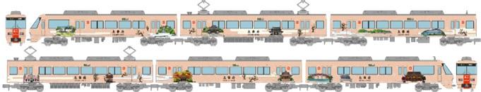 土日出荷可能 鉄道模型 定価の67%OFF トミーテック 鉄道コレクション 旅人-たびと- 6両セット 西日本鉄道8000形 291275 大幅値下げランキング