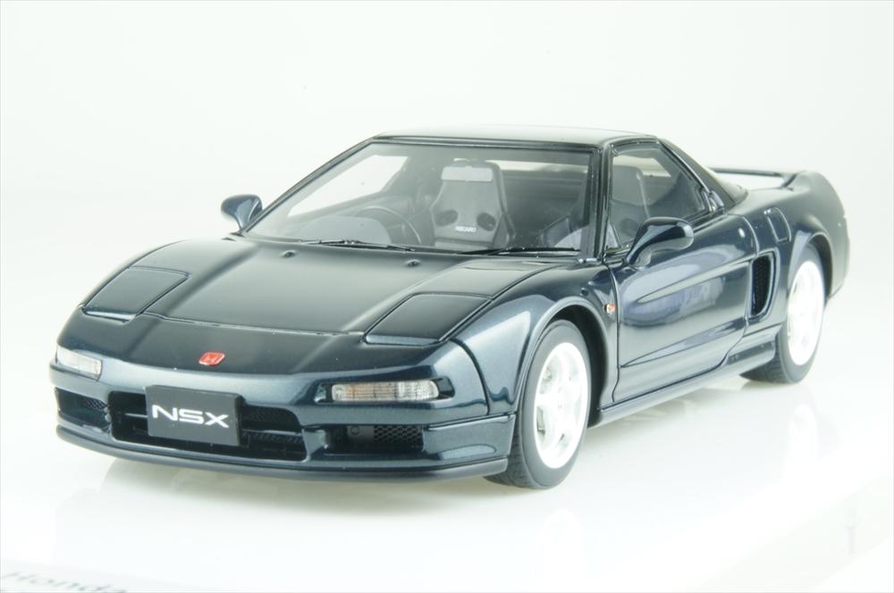 アイドロン 1/43 ホンダ NSX-R(NA1) 1992 グリーン 完成品ミニカー EM388H
