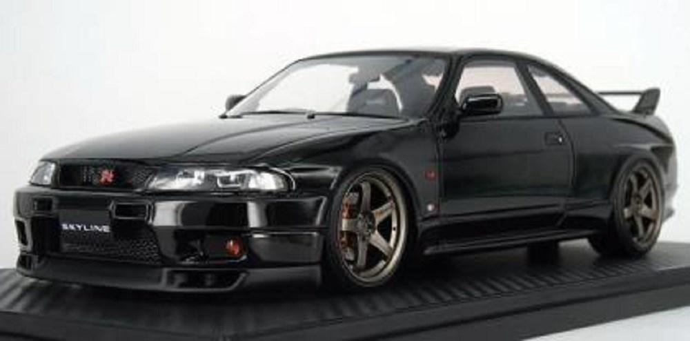 【予約】 イグニッションモデル 1/18 ニッサン スカイライン GT-R (BCNR33) V-spec ブラック 完成品ミニカー IG1314