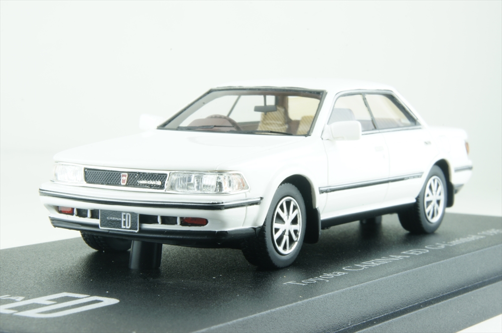 Cam@1/43 トヨタ カリーナ ED Gリミテッド 1985 スーパーホワイト 完成品ミニカー C43083