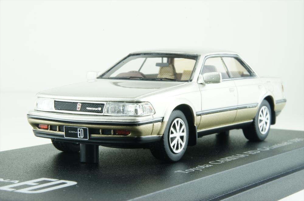 Cam@1/43 トヨタ カリーナ ED Gリミテッド 1985 シティーエレガンストーニング 完成品ミニカー C43085