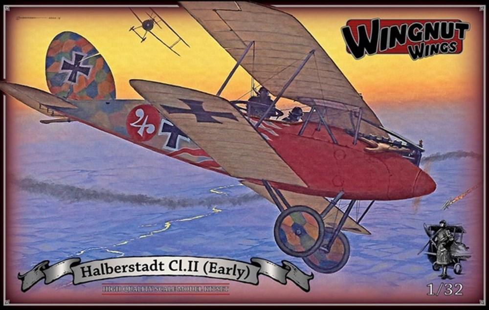 【予約】 ウィングナット・ウィングス 1/32 ハルバーシュタット Cl.II 前期型 スケールプラモデル WNG32049
