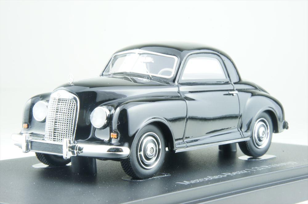 オートカルト 1/43 メルセデス・ベンツ 1.2L プロトタイプ 1948 ブラック ドイツ 完成品ミニカー 06022