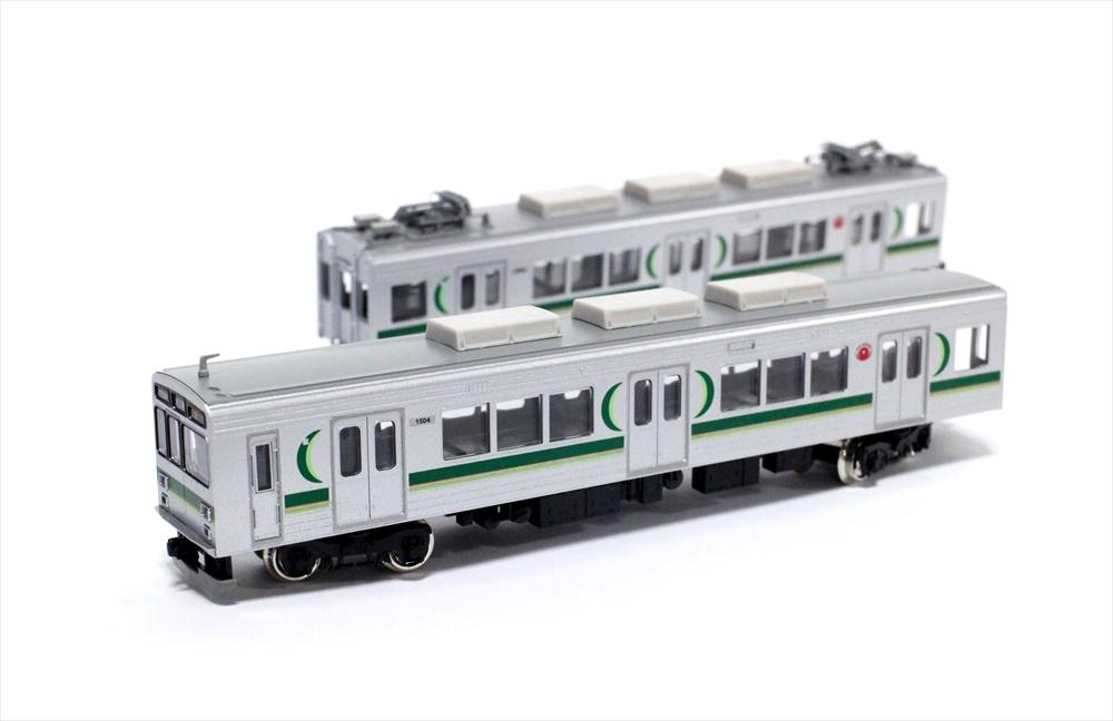グリーンマックスNゲージ 東急1000系(1500番代・強化型スカート・登場時)3両編成セット 動力付き 鉄道模型 30762