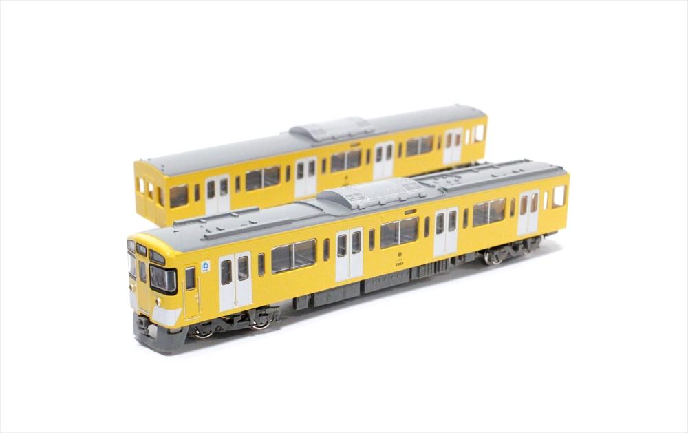 グリーンマックスNゲージ 西武新2000系前期形(池袋線・2503編成+2501編成・ベンチレーター撤去後)8両編成セット(動力付き) 鉄道模型 30764