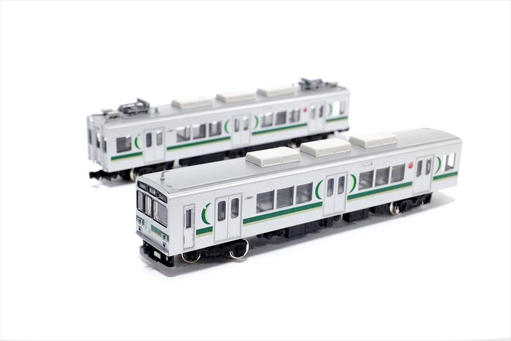 グリーンマックスNゲージ 東急1000系(1500番代・生活名所 池上線ヘッドマーク付き)3両編成セット 動力付き 鉄道模型 50607
