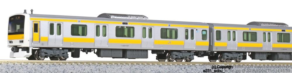 KATO Nゲージ E231系500番台 中央・総武緩行線 6両基本セット 鉄道模型 10-1461