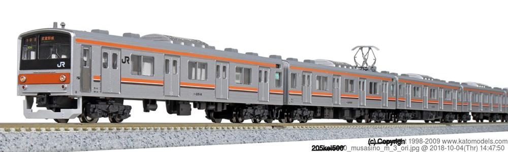 KATONゲージ 205系5000番台 武蔵野線(サハ205ドア大窓) 8両セット 鉄道模型 10-1498