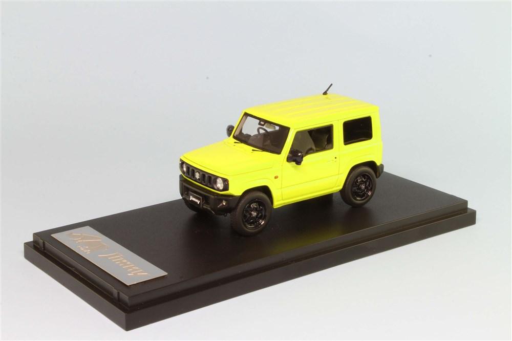 MARK43 1/43 スズキジムニー(JB64W) XL キネティックイエロー モノトーンカラー 完成品ミニカー PM43116LY