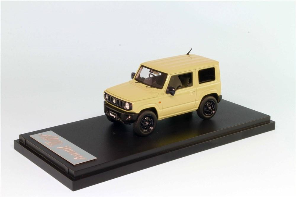 【予約】 MARK43 1/43 スズキジムニー(JB64W) XL シフォンアイボリーメタリック モノトーンカラー 完成品ミニカー PM43116LBR