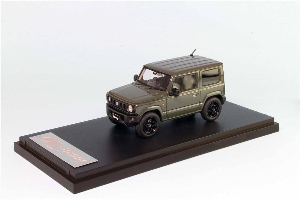 【予約】 MARK43 1/43 スズキジムニー(JB64W) XL ジャングルグリーン モノトーンカラー 完成品ミニカー PM43116LG