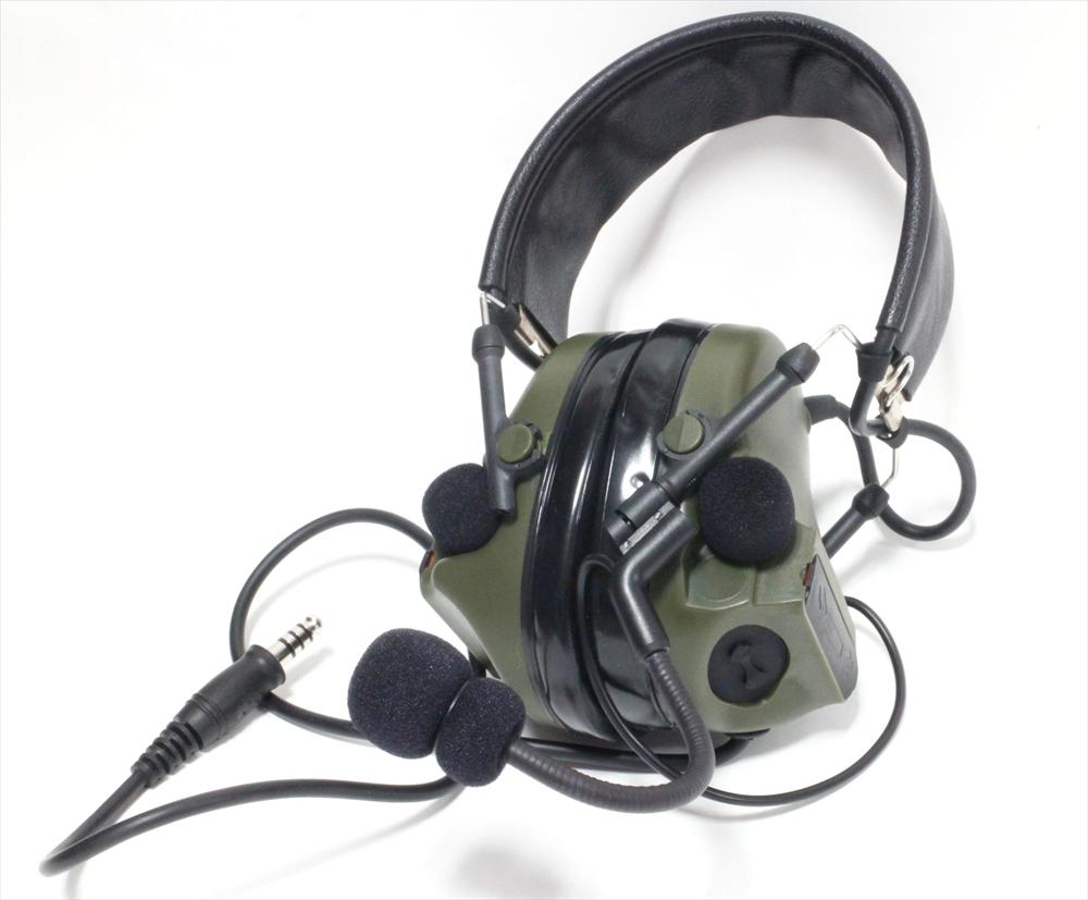 アローダイナミック COMTAC 3 ヘッドセット フォーリッジグリーン ミリタリー AD-HG006-FG