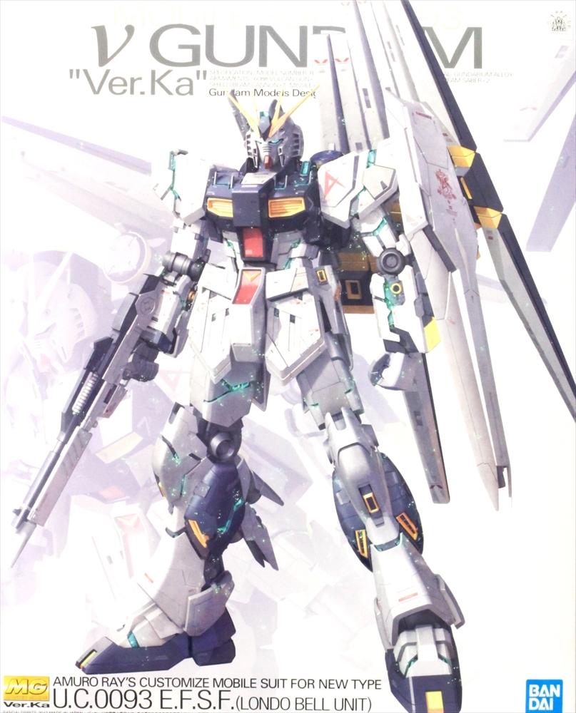 バンダイ 1/100 MG RX-93 νガンダム Ver.Ka 「機動戦士ガンダム 逆襲のシャア」より ガンプラ 163