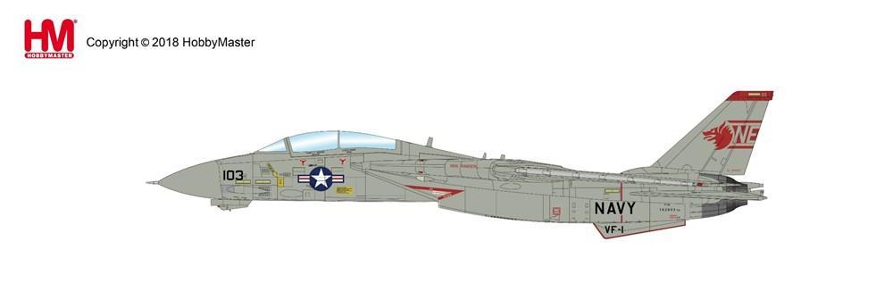 ホビーマスター 1/72 F-14A スーパートムキャット 第1戦闘飛行隊