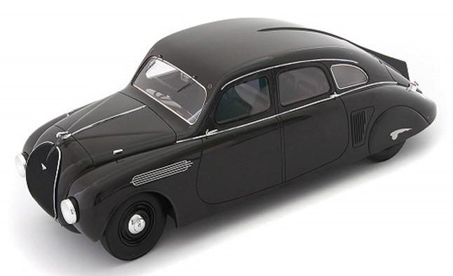 【予約】 オートカルト 1/18 シュコダ 935 1935 ダークブラウン 完成品ミニカー 80006