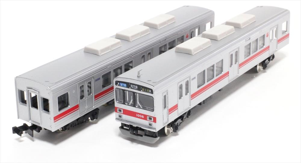 グリーンマックスNゲージ 東急1000系(東横線・強化型スカート)8両編成セット(動力付) 鉄道模型 30759