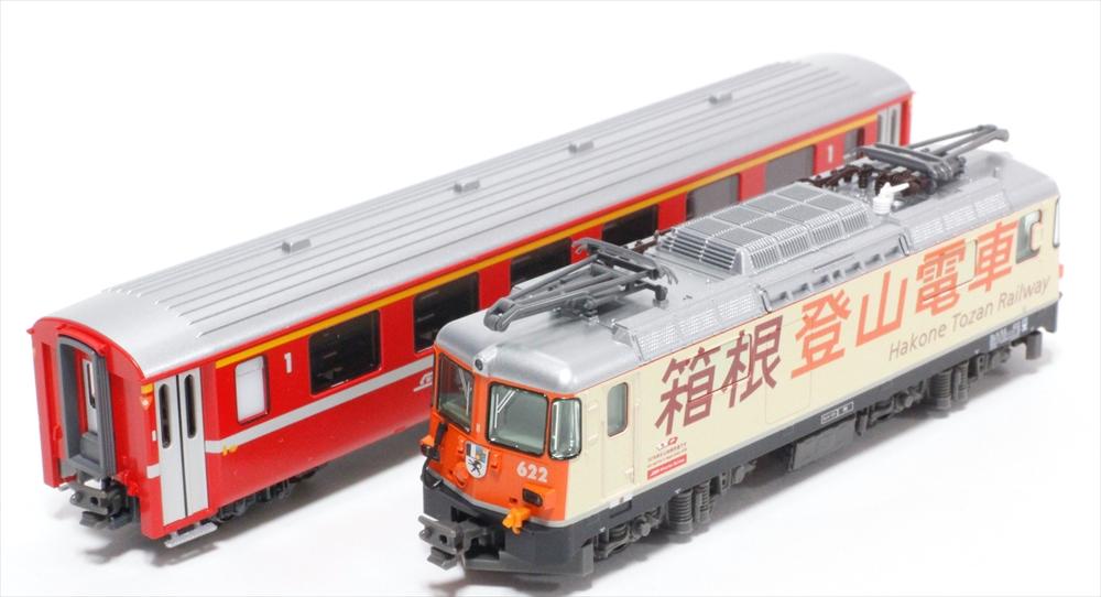 KATONゲージ Ge4/4-II 箱根登山電車+EWI客車 3両セット(特別企画品) 鉄道模型 10-1514