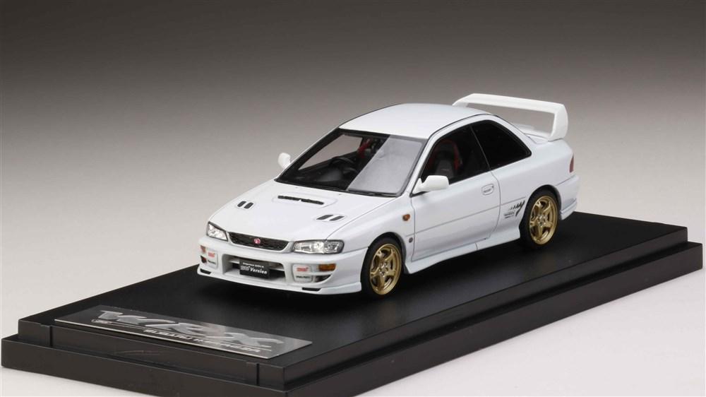 【予約】 MARK43 1/43 スバル インプレッサWRX type R STi Version VI 1999 (GC8) ピュアホワイト 完成品ミニカー PM43105W