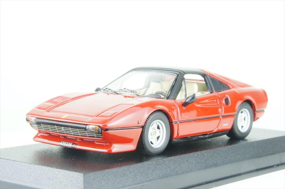 ベストモデル 1/43 フェラーリ 308 GTS ジル・ヴィルヌーヴ所有車 完成品ミニカー BEST9717