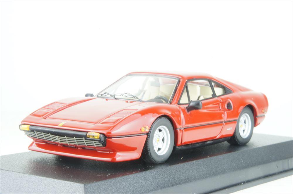 ベストモデル 1/43 フェラーリ 308 GTB アメリカバージョン 1976 レッド 完成品ミニカー BEST9721