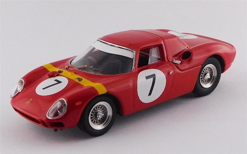 【予約】 ベストモデル 1/43 フェラーリ 250 LM No.7 1964 アンゴラGP ウイナー W.メレス 完成品ミニカー BEST9730